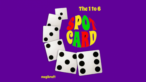 1 TO 6 SPOT CARD by Martin Lewis - Trick