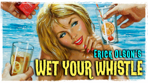 Bill Abbott Magic:  Wet Your Whistle (Gimmicks and Online Instructions) by Erick Olson - Trick