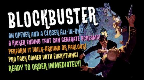 Blockbuster (Gimmicks and Online Instructions) by Bill Abbott - Trick