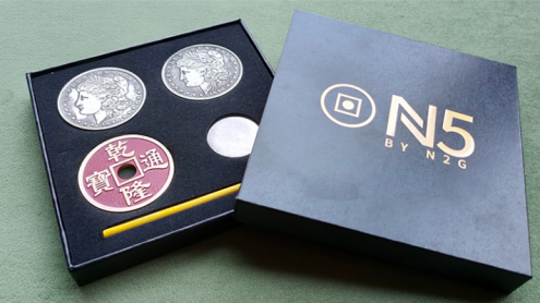 N5 RED Coin Set by N2G - Trick