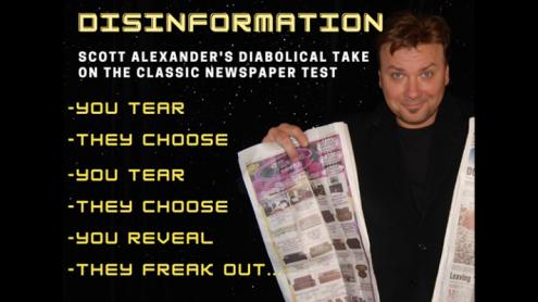 DIS INFORMATION by Scott Alexander & Puck - Trick