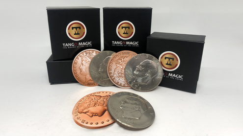 Copper Morgan Hopping Half (Gimmicks and Online Instructions) by Tango Magic - Trick