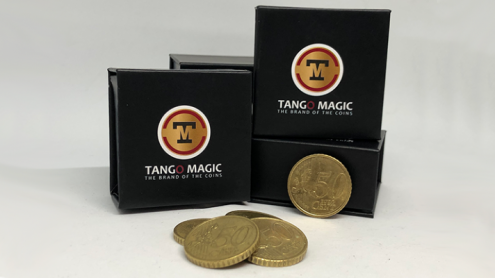 Perfect Shell Coin Set Euro 50 Cent (Shell and 4 Coins E0091) by Tango Magic - Trick