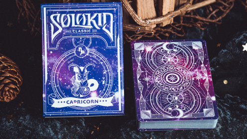 Solokid Constellation Series V2 (Capricorn) Playing Cards by BOCOPO