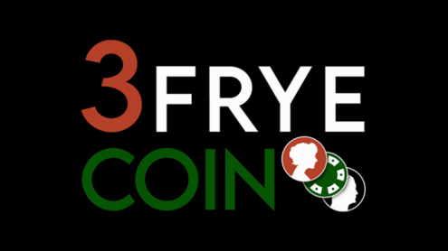 3 Frye Coin (Gimmick and Online Instructions) by Charlie Frye and Tango Magic - Trick