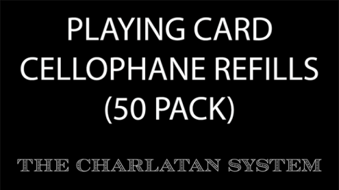 Playing Card Cellophane Refills (50 Units)