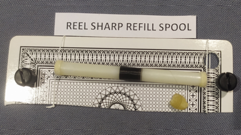 REEL SHARP REFILL SPOOL (Gimmicks and Online Instructions) by UDAY - Trick