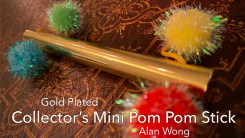 Collector's Mini Pom-Pom Stick by Alan Wong - Trick