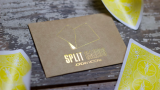 COLORED Split Cards 10 ct. (Yellow) by PCTC - Trick
