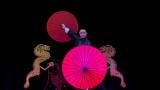 Dragon Parasol Set RED by LY & MS Magic - Trick