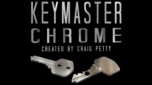 Keymaster Chrome (Gimmicks and Online Instructions) by Craig Petty
