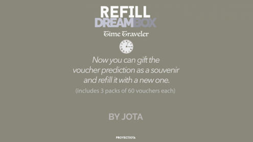 DREAM BOX TIME TRAVELER GIVEAWAY / REFILL by JOTA - Trick
