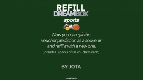 DREAM BOX SPORTS GIVEAWAY / REFILL by JOTA - Trick