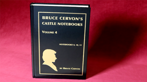 Bruce Cervon Castle Notebook, Vol. 4 - Book