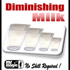 Diminishing Milk Glasses (multum in Parvo) by Mr. Magic