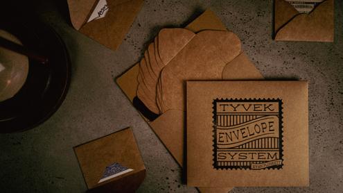 Tyvek Envelope System (10 Envelopes and Online Instructions) by Ryan Plunkett - Trick