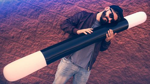 INFLATABLE WAND (6FT.) by Murphy's Magic Supplies - Trick