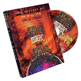 World's Greatest Magic: Oil & Water - DVD