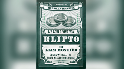Klipto - A 3 Coin Divination (Gimmicks and Online Instructions) by Liam Montier