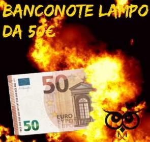 Flash Euro Bill - 50 euro - 10 pcs
