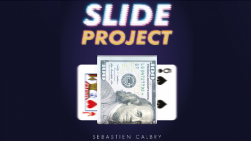 Slide Project (Gimmicks and Online Instructions) by Sebastien Calbry & Magic Dream - Trick