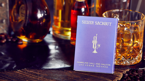 Silver Sackbut Playing Cards (Purple)