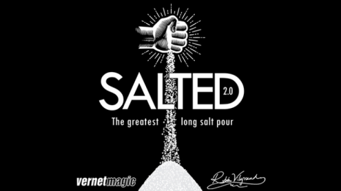 Salted 2.0 (Gimmicks and Online Instructions) by Ruben Vilagrand and Vernet - Trick