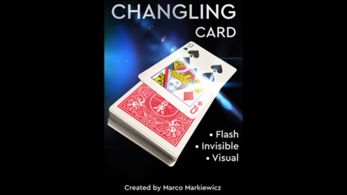 CHANGLING CARD RED by Marco Markiewicz - Trick