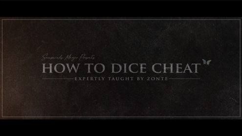 How to Cheat at Dice Black Leather (Props and Online Instructions)  by Zonte and SansMinds - Trick