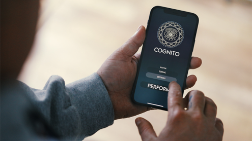 Cognito Physical Copy (App & Online Instructions) by Lloyd Barnes & Owen Garfield Physical Copy - Trick