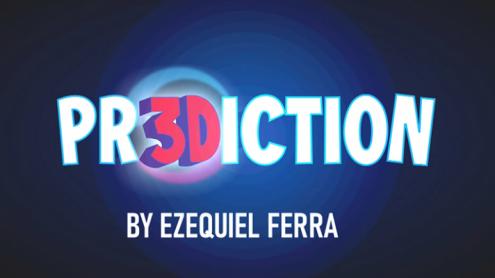 PR3DICTION BLUE (Gimmicks and Online Instructions) by Ezequiel Ferra - Trick
