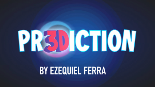 PR3DICTION RED (Gimmicks and Online Instructions) by Ezequiel Ferra - Trick