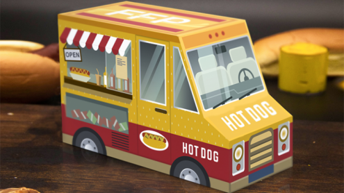 Hot Dog & Mustard Combo (Half-Brick) Playing Cards by Fast Food Playing Cards