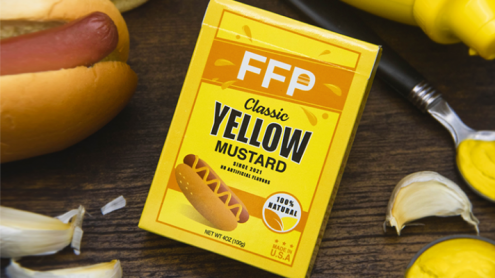 Mustard Playing Cards by Fast Food Playing Cards